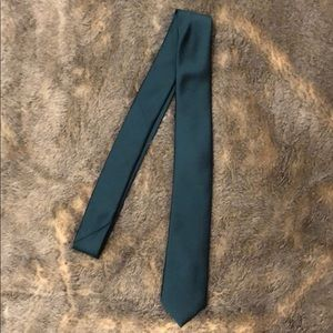 Express teal tie